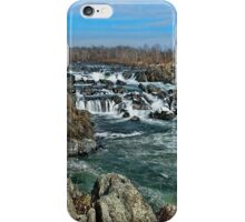 The Great Falls of the Potomac River iPhone Case/Skin