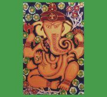 Ganesha- Elephant Power Kids Tee