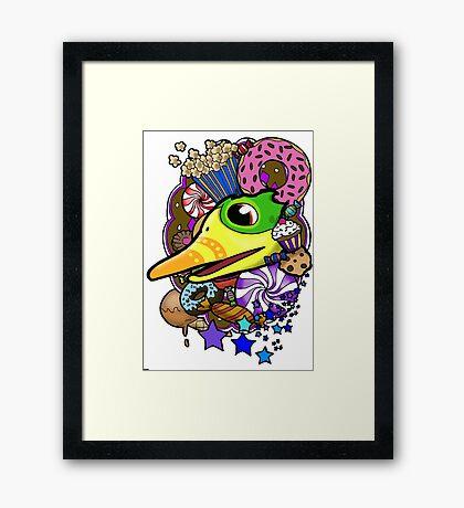 Viva Pinata - Quackberry Collage! Framed Print