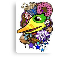 Viva Pinata - Quackberry Collage! Canvas Print