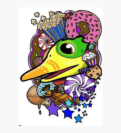 Viva Pinata - Quackberry Collage! Photographic Print