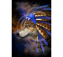 Fight For What You Love (Chief of Dreams: Wolf)  Photographic Print