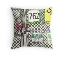 safety in brooklyn Throw Pillow