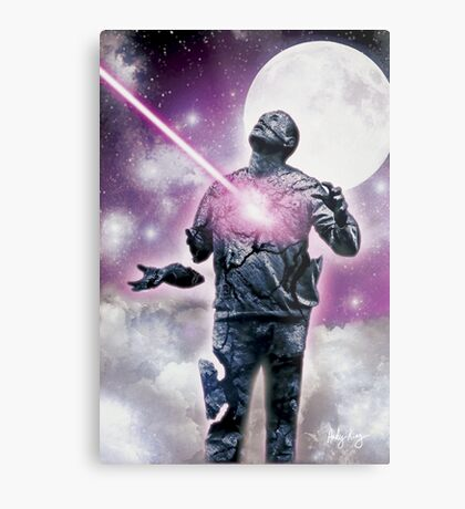 I will be judged by Him......... Metal Print