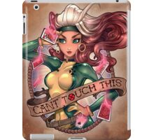CANT TOUCH THIS iPad Case/Skin