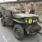 W.W.II Jeep by Edward Denyer