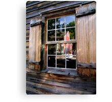 Reflections of Old Salem Canvas Print