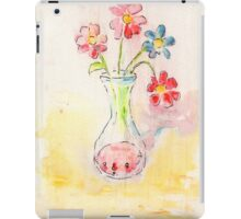 Vase Face. iPad Case/Skin