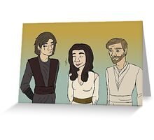 Prequels Trio Greeting Card