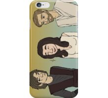 Prequels Trio iPhone Case/Skin