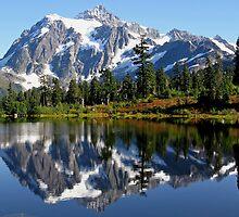 Mount Shuksan by Corey Bigler