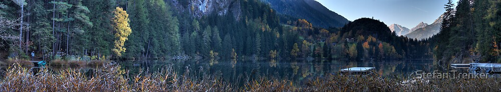Autumn at Piburger See by Stefan Trenker