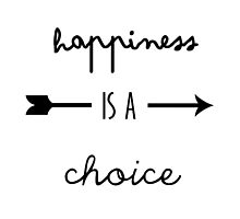 happiness is a choice quote by pastelcrush