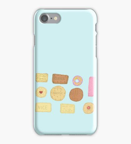 Best of British Biscuits. iPhone Case/Skin