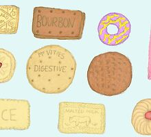 Best of British Biscuits. by lilliesandroses