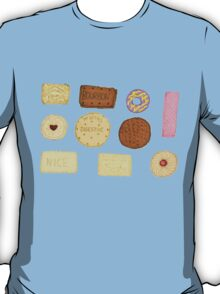 Best of British Biscuits. T-Shirt