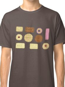 Best of British Biscuits. Classic T-Shirt