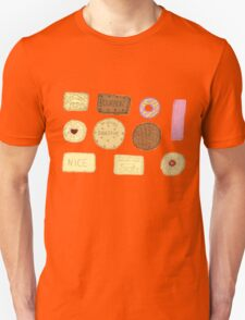 Best of British Biscuits. Unisex T-Shirt