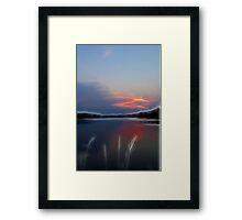 Good Evening My Love Framed Print