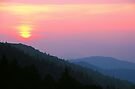 SUNRISE,NEWFOUND GAP by Chuck Wickham