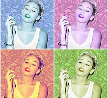 Miley Cyrus by Johnny James