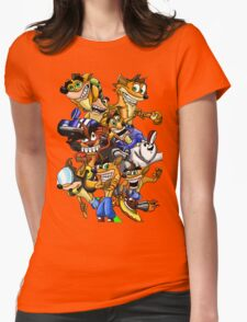 Crash-Mania Womens Fitted T-Shirt