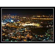 Gold of Jerusalem Photographic Print