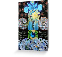The Illuminatrix- The Goddess Trinity, Part 2 Greeting Card