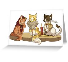 The Catquisition - The Catvisors Greeting Card