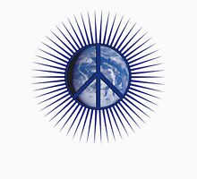 Peace Symbol & Earth Unisex T-Shirt