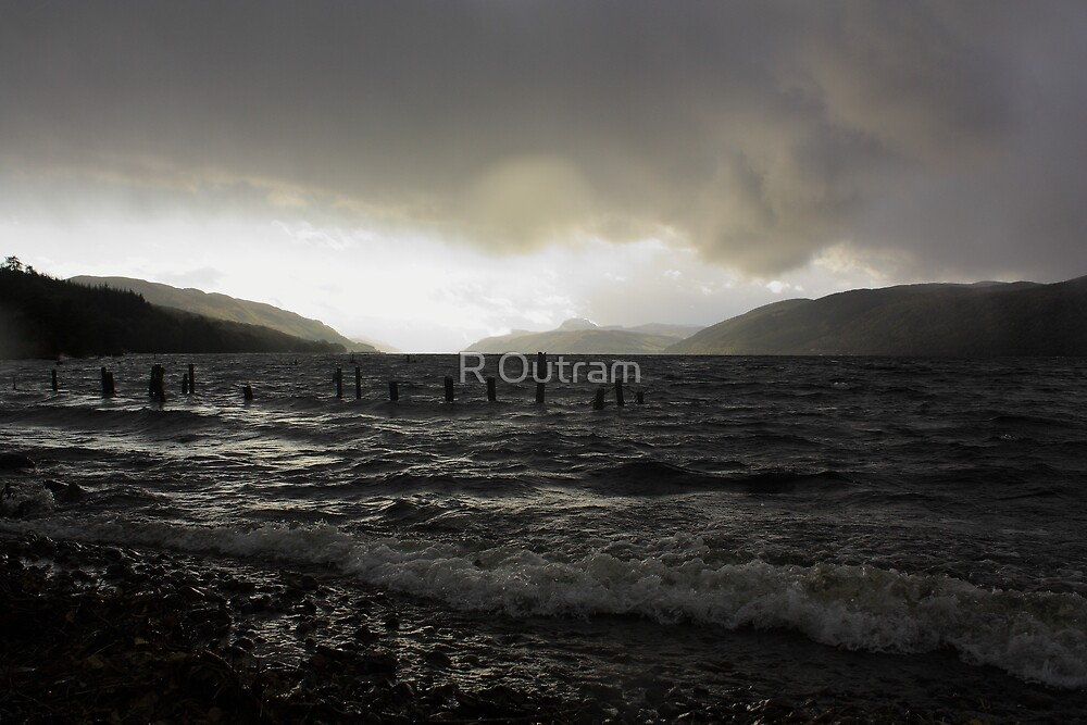Dark Loch Ness by Rob Outram