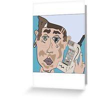 90's Cell Phone Greeting Card