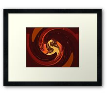 Priority of the Aperture Framed Print