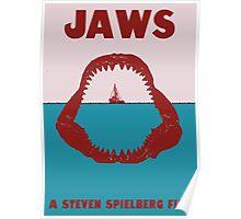 Jaws Minimalist Poster Poster