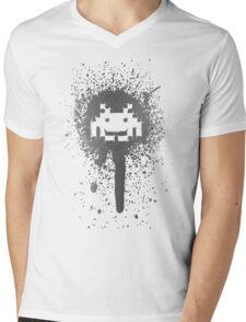 Space Blotch (Dark ver.) Mens V-Neck T-Shirt