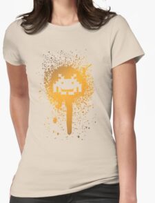 Space Blotch (Orange ver.) Womens Fitted T-Shirt