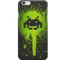 Space Blotch (Green ver.) iPhone Case/Skin