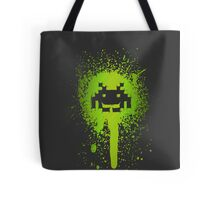 Space Blotch (Green ver.) Tote Bag