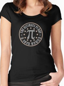 The Ultimate Pi Day 3.14 Women's Fitted Scoop T-Shirt