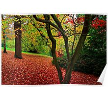 Autumn Is A Painter Poster