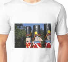 Australian Bollards Wooden Soldiers Unisex T-Shirt