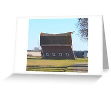 I'll Huff and I'll Puff and I'll BLOW this Barn Down! Greeting Card