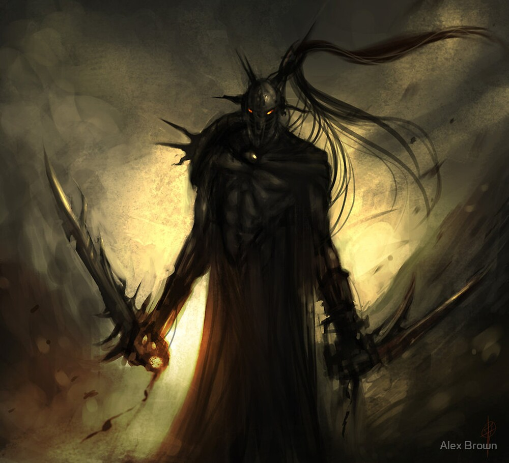 black orc by Alex Brown