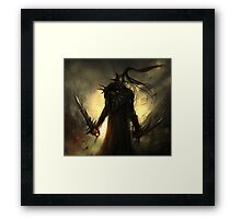 black orc Framed Print