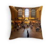 The Still Centre of Grand Central. Throw Pillow