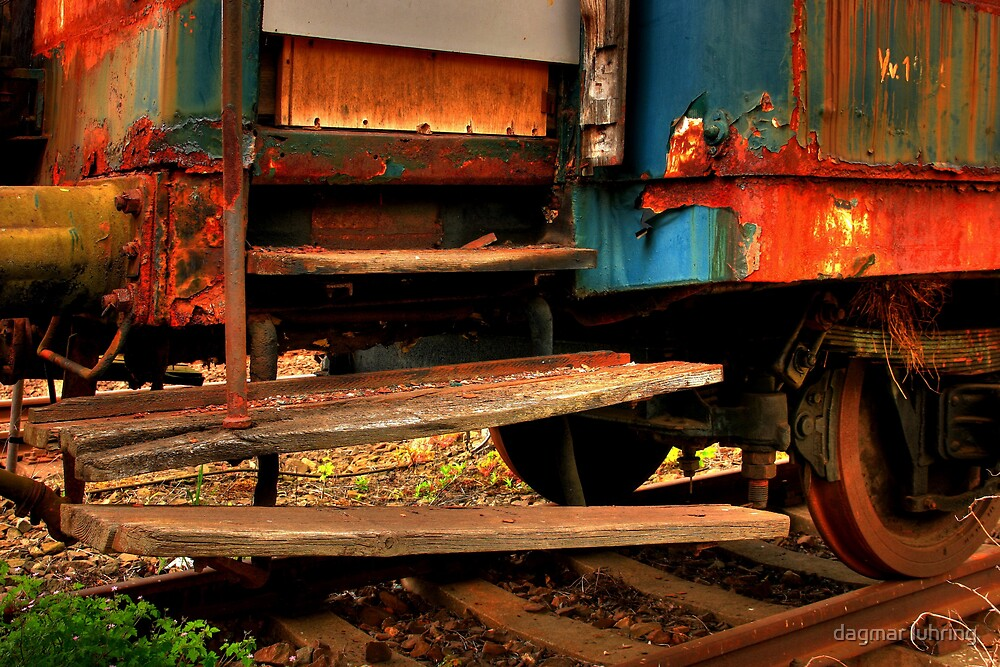 old train 2 by danapace