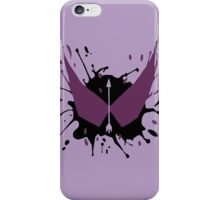 Hawkeye Splatter iPhone Case/Skin