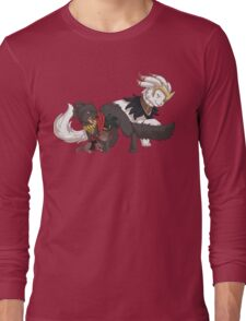 The Catquisition - The Morricat Family Long Sleeve T-Shirt