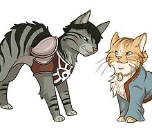 The Catquisition - Cassandra & Varric by ramthedragon