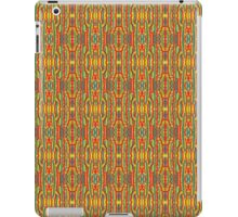 squiggle stripes iPad Case/Skin